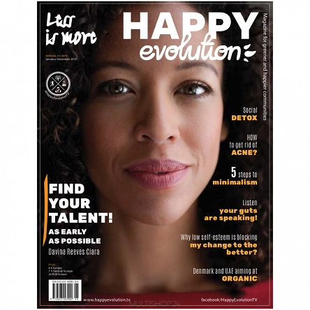 Happy Evolution Magazine 2019 x10