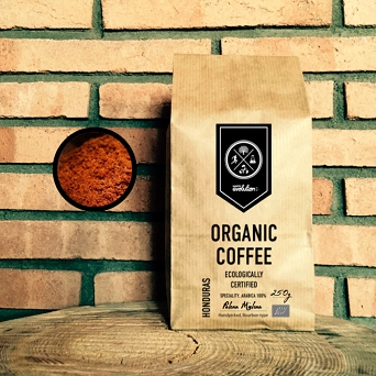 Organic Black Coffee 250g /Mielona