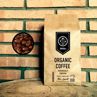 Organic Black Coffee 250g /Ziarnista